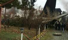 تحطم طائرة من طراز بوينغ 707 قرب العاصمة الإيرانية طهران