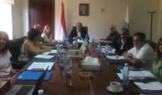 وزير البيئة ترأس اجتماع المجلس الاعلى للصيد البري