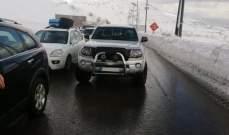 قوى الأمن: مفرزة سير زحلة نظمت 130 محضرا على طريق ضهر البيدر