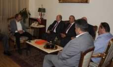 الأسمر التقى باسيل:نقلنا معاناة الشعب جراء عدم تأليف الحكومة