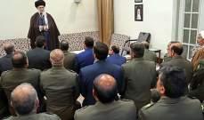 الخامنئي: ينبغي مواصلة التقدم ليكون جيش إيران غدا أقوى وأفضل من اليوم