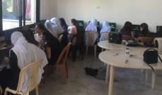 دورات تدريبية في الكمبيوتر لنساء حاصبيا ممول من الاتحاد الاوروبي