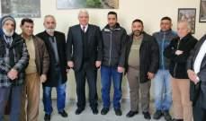 قمرالدين التقى وفدا من حركة صرخة المظلومين وتابع حملتي نظافة نهر أبو علي وساحة الكورة بطرابلس