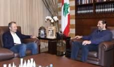 مصادر وزارية للجمهورية:نتوقع لقاء قريبا بين الحريري وباسيل لمقاربة المواقف
