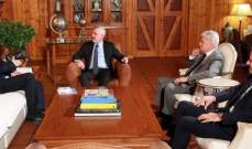 فرنجية التقى سفير بولندا وبحثا التطورات الراهنة