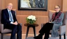 ميقاتي التقى كارديل: لتطبيق القرارات الدولية والعمل على وقف الخروقات الإسرائيلية