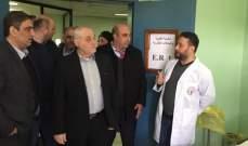 جبق من مستفى الهرمل الحكومي:كل كلمة نقولها سننفذها بحذافيرها