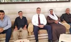 محمد سليمان استقبل المهنئين بالأضحى:من ينفخ بأبواق الحقد والتفرقة ليس لبنانيا
