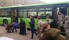 النشرة: مغادرة حافلة تقل 23 نازحا سوريا عائدا طوعا من شبعا إلى سوريا