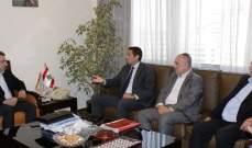 أبو فاعور التقى معلوف ومخاتير المتين الرافضين لإقامة منطقة صناعية بالبلدة