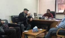 أسامة سعد يستقبل وفدا من الاتحاد العربي الاشتراكي