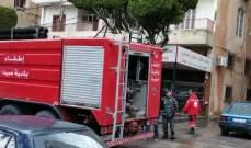 النشرة: اخماد حريق اندلع في منزل بمدينة صيدا
