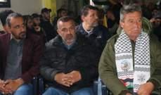 """حركة """"فتح"""" تحيي يوم الأرض باحتفال بمخيم الرشيدية"""