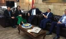 نهرا استقبل مسؤولة مكتب مفوضية الامم المتحدة لشؤون اللاجئين في الشمال