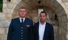 بلدة مغدوشة تحيي الذكرى السنوية الثالثة لاستشهاد الجندي داني الجاموس