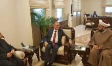 القطان وعبد الرزاق زارا سفير سوريا: لإعادة افضل العلاقات مع سوريا