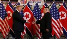 وكالة أنباء كوريا الشمالية: كيم وترامب اتفقا على مواصلة مشاوراتهما حول نزع السلاح النووي