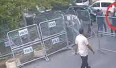 نشر صور جديدة لخاشقجي قبيل دخوله الى القنصلية السعودية باسطنبول