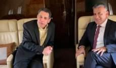 """""""رويترز"""" عن مسؤول لبناني: نزار زكا يغادر إيران إلى بيروت برفقة ابراهيم"""
