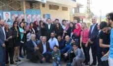 المرشح عماد الخطيب يلتقي فعاليات في قرى العرقوب وحاصبيا