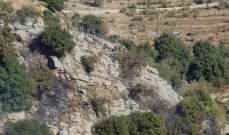 النشرة:الدفاع المدني يسيطر على الحريق الذي اندلع في منطقة الوادي في شبعا