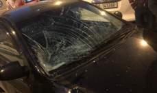 الدفاع المدني: جريح اثر حادث سير في تلة الخياط