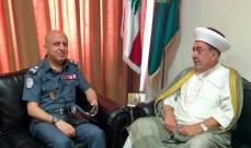 النشرة: سوسان التقى العميد شمس لمناسبة تسلمه لقيادة منطقة الجنوب
