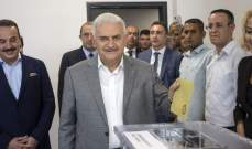 يلدريم يدلي بصوته بالانتخابات الرئاسية والبرلمانية: نتمنى بأن تجلب الخير لنا