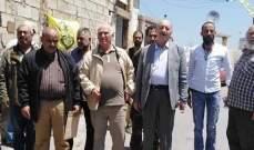 النشرة: وفد من فتح جال في مخيم المية ومية