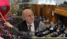 جنبلاط يحسم اسم مرشحه في بيروت لكن يصطدم بحالة إعتراضية