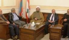 أسامة سعد التقى وفدا من المجمع الثقافي الجعفري: لعدم زج الدين بالسياسة