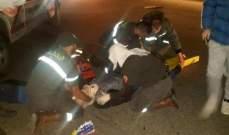 الدفاع المدني: جريح نتيجة حادث صدم في قصقص - بيروت