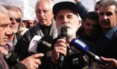 اعتصام على طريق رياق بعلبك احتجاجا على تأخير حل تلوث الليطاني