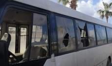 اشكال بين سائقي حافلتين في صيدا على خلفية نقل ركاب