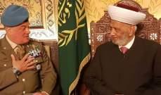 دريان التقى قائد اليونفيل: لأهمية التعاون في حفظ امن لبنان في الجنوب