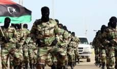 الجيش الليبي: تلقينا أوامر بالتحرك نحو غرب البلاد لمحاربة الإرهابيين