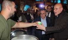 """سلام والسنيورة جالا بصيدا القديمة تزامنا مع إحياء فعاليات """"صيدا مدينة رمضانية"""""""