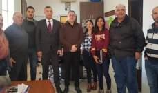 عطاالله جال في قرى الكورة متفقدا مشروع تمديد الصرف الصحي وإعادة تأهيل الطرقات