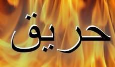 إخماد حريق مولد للتغذية بالطاقة الكهربائية بحارة حريك وحريق أشجار في عيناثا