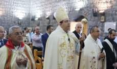 قداس في التليل احتفالا بعيد القديس جاورجيوس شفيع البلدة