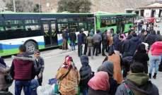 سانا: وصول 8 حافلات تقل العشرات من اللاجئين عبر معبر جديدة يابوس لقراهم وبلداتهم
