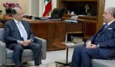 الرئيس عون استقبل وزير الداخلية والبلديات نهاد المشنوق