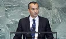 ملادينوف: هجوم المستوطنين على موكب رئيس الوزراء الفلسطيني مقلق للغاية