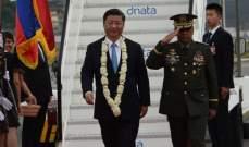 جينبينغ بدأ زيارة إلى الفيليبين هي الأولى لرئيس صيني منذ 13 عاما
