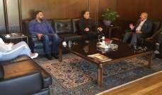 """صالح استقبل وفدا من اللجنة التحضيرية لإحتفالية """"الأعياد تجمعنا"""""""