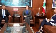 اللواء إبراهيم التقى سفيرة الدنمارك وعرض معها الأوضاع العامة