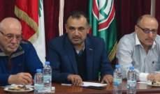 لقاء بين جبهة التحرير وأمل في صور: لتعزيز الوحدة الوطنية الفلسطينية