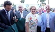 اللبنانية الأولى تفتتح معرض الحدائق ومهرجان الربيع بميدان سباق الخيل