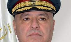 العماد عون التقى قائد الجيش الأميركي في القيادة الوسطى