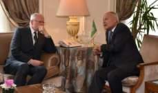 أبو الغيط التقى جيفري: تدخلات إيران وتركيا وراء إطالة أمد الأزمة بسوريا